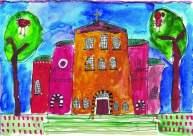 """Автор: Лидия, 9 г. Рисунката е предоставена от Ателие """"Прегърни ме""""."""