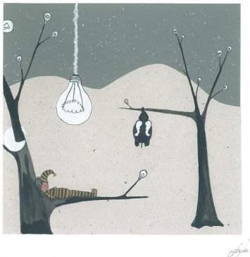 """Автор: Аньо, 8 г. Рисунката е предоставена от Ателие """"Прегърни ме""""."""