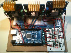Stewart platform wiring