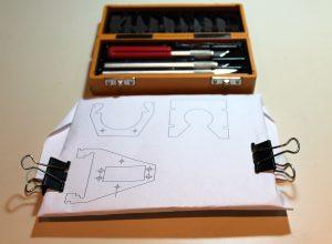 cardboard prototype prep