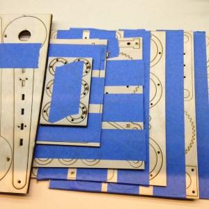 arm3 laser cut parts