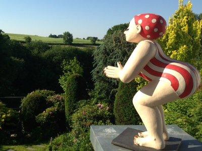 Gartenfiguren  Margit Hohenberger  Keramik Kunst