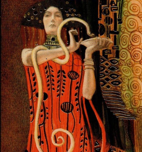 the magician by Klimt - margit glassel