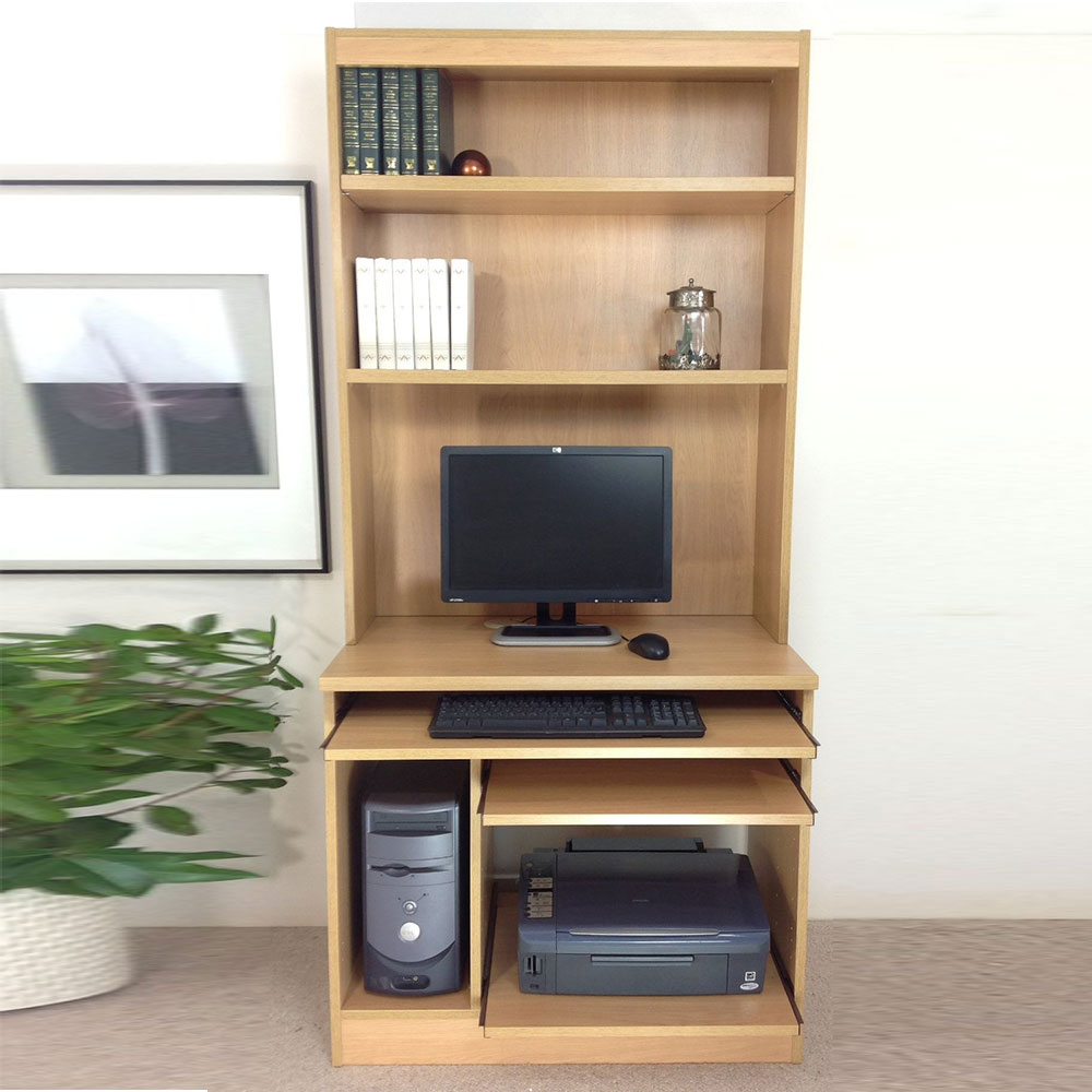 COMPUTER WORKSTATION DESK HUTCH  Margolis Furniture