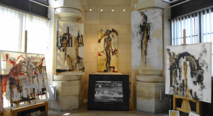 Nad Thiry, exposition galerie Esquié