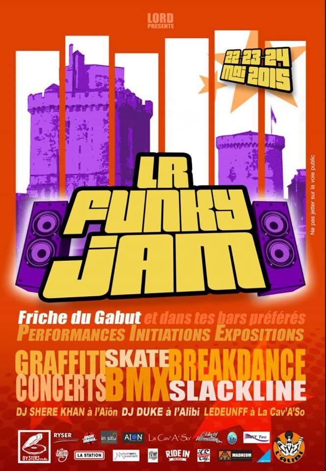 Affiche Lr Funky Jam