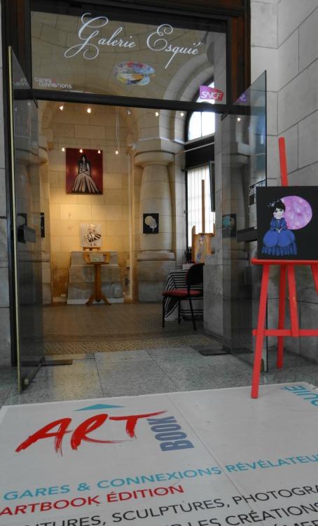 Expo Caroline Pelletier Galerie Esquié La Rochelle