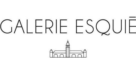 Art contemporain en gare de La Rochelle Logo Galerie Esquié