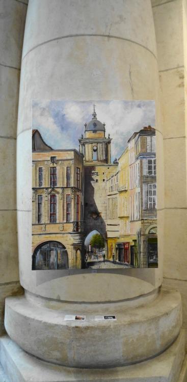 Carlos Da Silva Galerie Esquié expositions en gare de La Rochelle