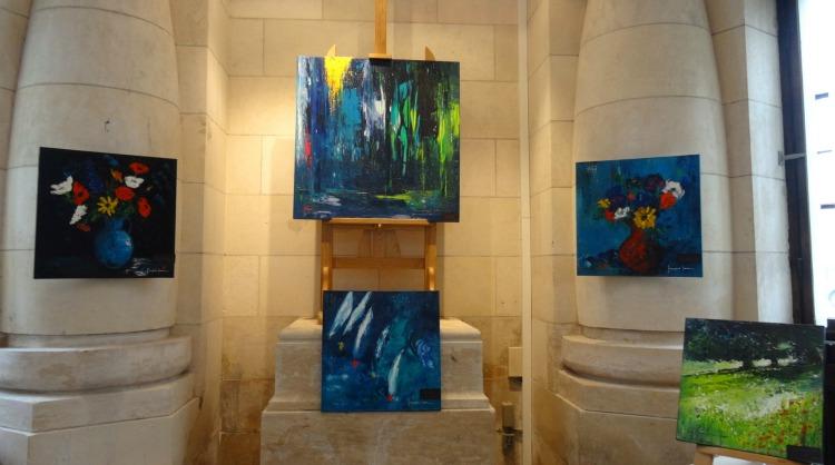 L'Art entre en gare ! Françoise Laine Galerie Esquié La Rochelle