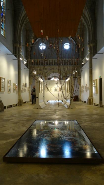 Tangui Robert - Expo Chapelle des Dames La Rochelle du 1er au 30 avril 2016