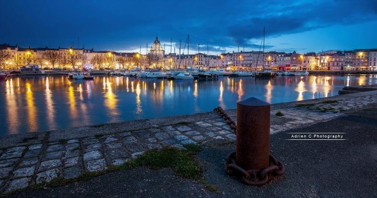 La Rochelle en fête, La Rochelle Féerique, Vieux port par Adrien C