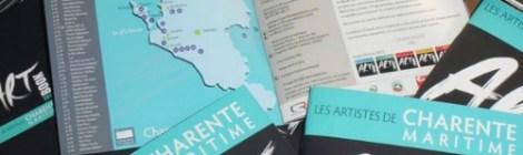 Artbook Charente Maritime 2017, les artistes de Charente Maritime