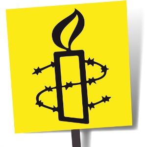 De l'art pour entretenir la flamme, Logo Amnesty International