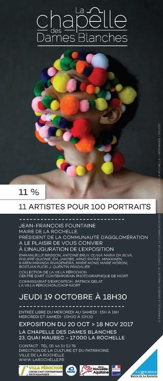 11 artistes pour 100 portraits