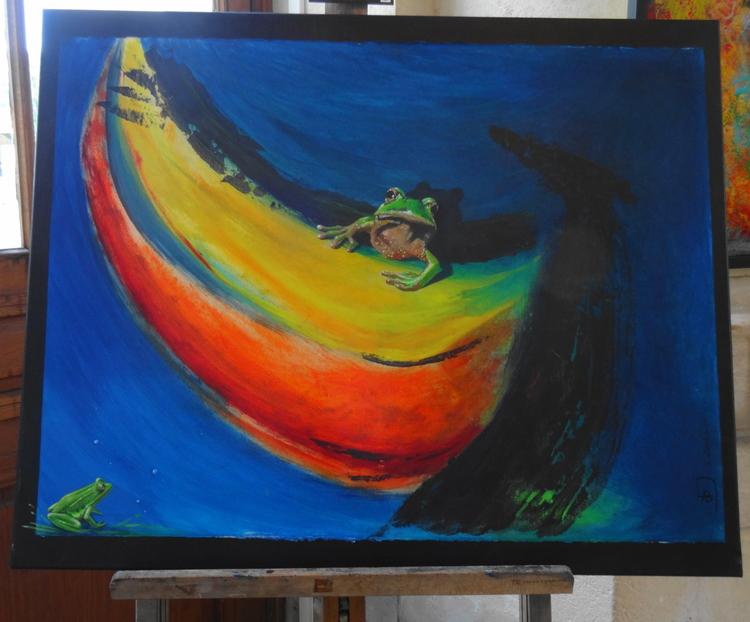 Art et expositions en Gare de La Rochelle, Exposition de Anne Deveaux & Arlette Bossy Galerie Esquié La Rochelle du 16 au 22 septembre 2017