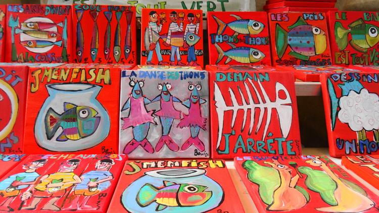 Expositions d'Art dans la Gare de La Rochelle Benis