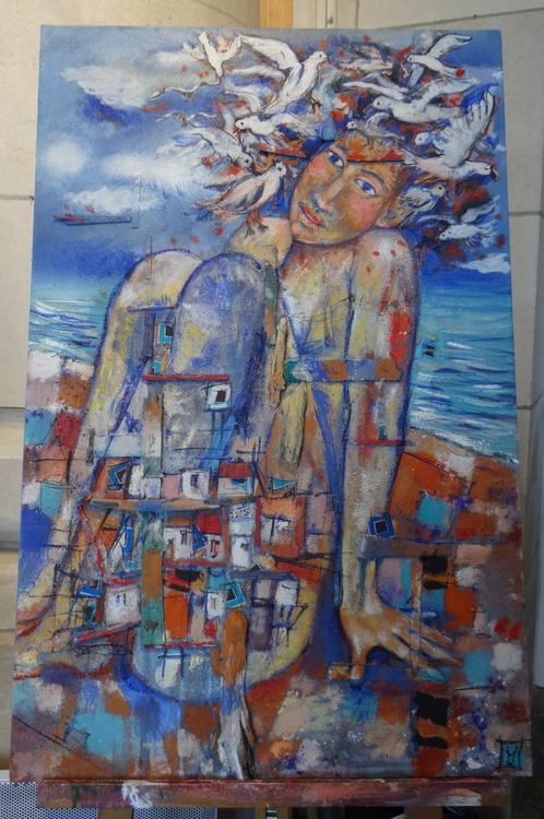 Art et expos dans la Gare de La Rochelle, Florence Malcombe