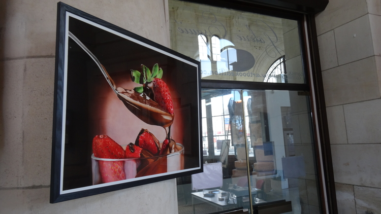 Art et expos dans la Gare de La Rochelle, Patricia Renaud