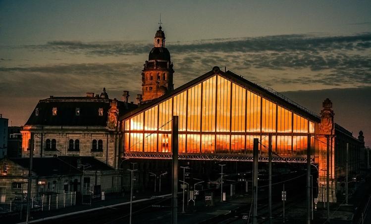 Gare de La Rochelle par Laurent Gaigner
