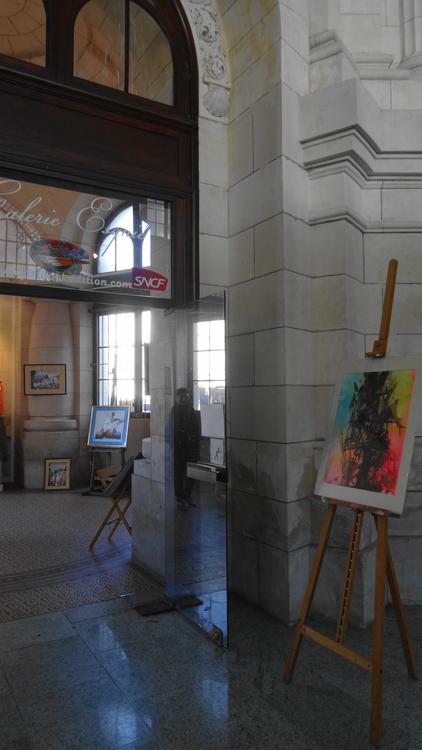 Expos dans la Gare de La Rochelle Sabino Puma