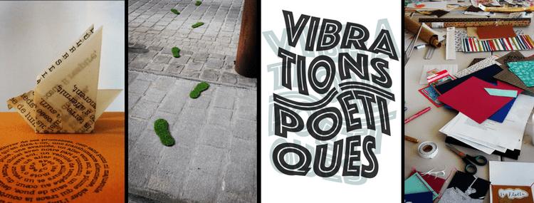 Vibrations poétiques Empreinte de mots