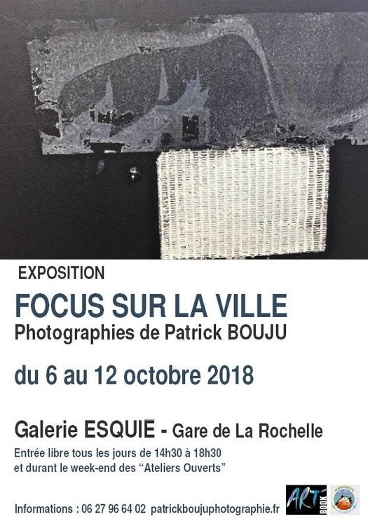 Art contemporain en gare de La Rochelle Patrick Bouju du 6 au 12 octobre