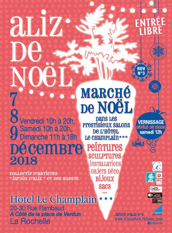 Aliz de Noël - Jardin d'Aliz - Affiche 7 au 9 décembre 2018