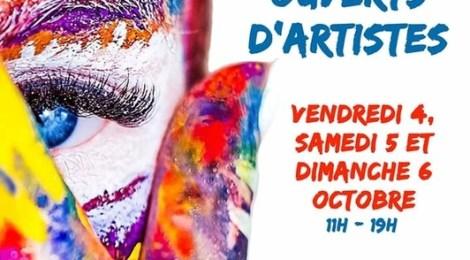 Ateliers ouverts d'artistes 2019 La Rochelle et Charente Maritime