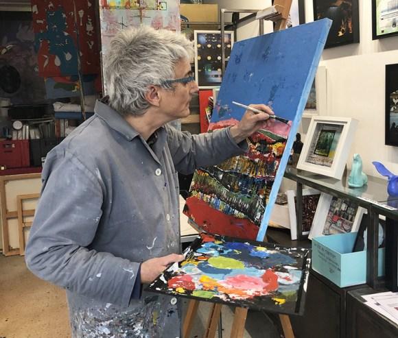 Viviane Perez Lorenzo - Exposition Galerie Arnaud La Rochelle