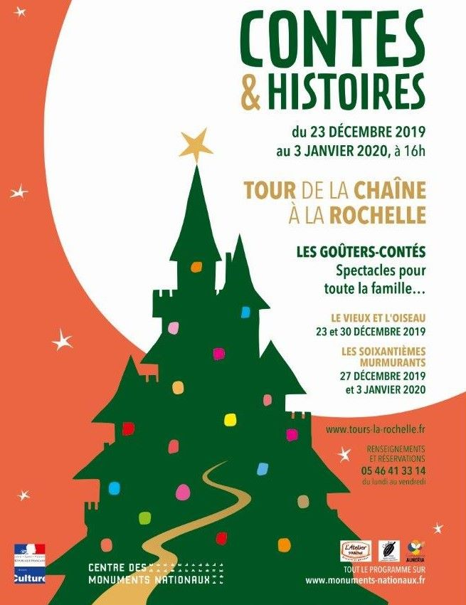 contes et histoires à la chaine du 23 decembre au 3 janvier