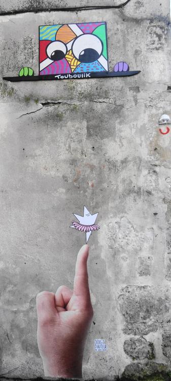 TOUBOULIK - SUPER BOURDI - Sur les murs de La Rochelle