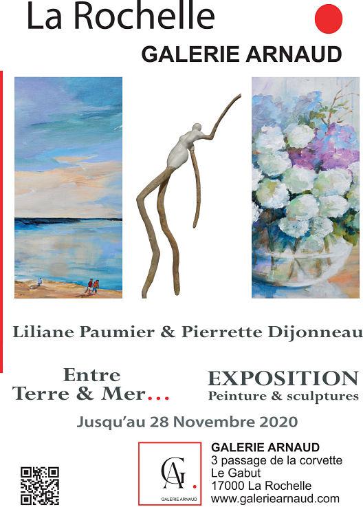 affiche galerie Arnaud Oct Nov 2020
