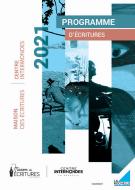 Programme Maison des écritures 2021