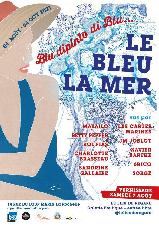 Le bleu la mer à La Rochelle
