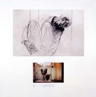 Derrière la vitre - Ernest Pignon Ernest