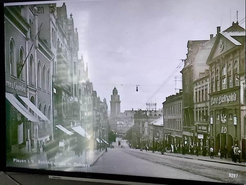 Bilder über Plauen, in vergangenen Zeiten - die andere Seite