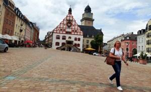 Altmarkt in Plauen