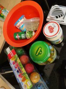 Zutaten für den Eiersalat