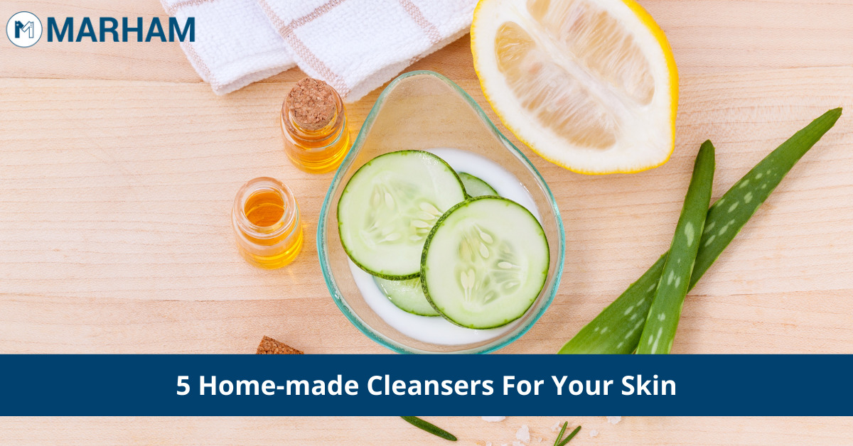 home-made cleansers
