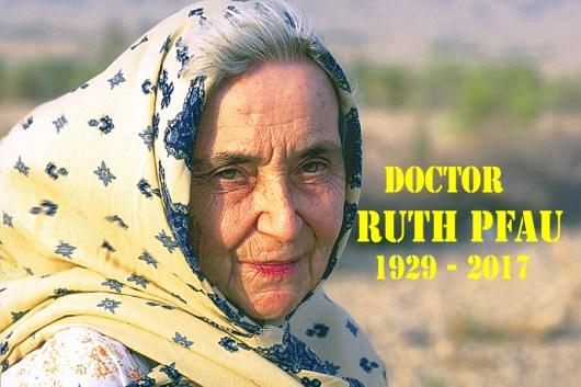 Dr. Ruth Pfau Passed Away