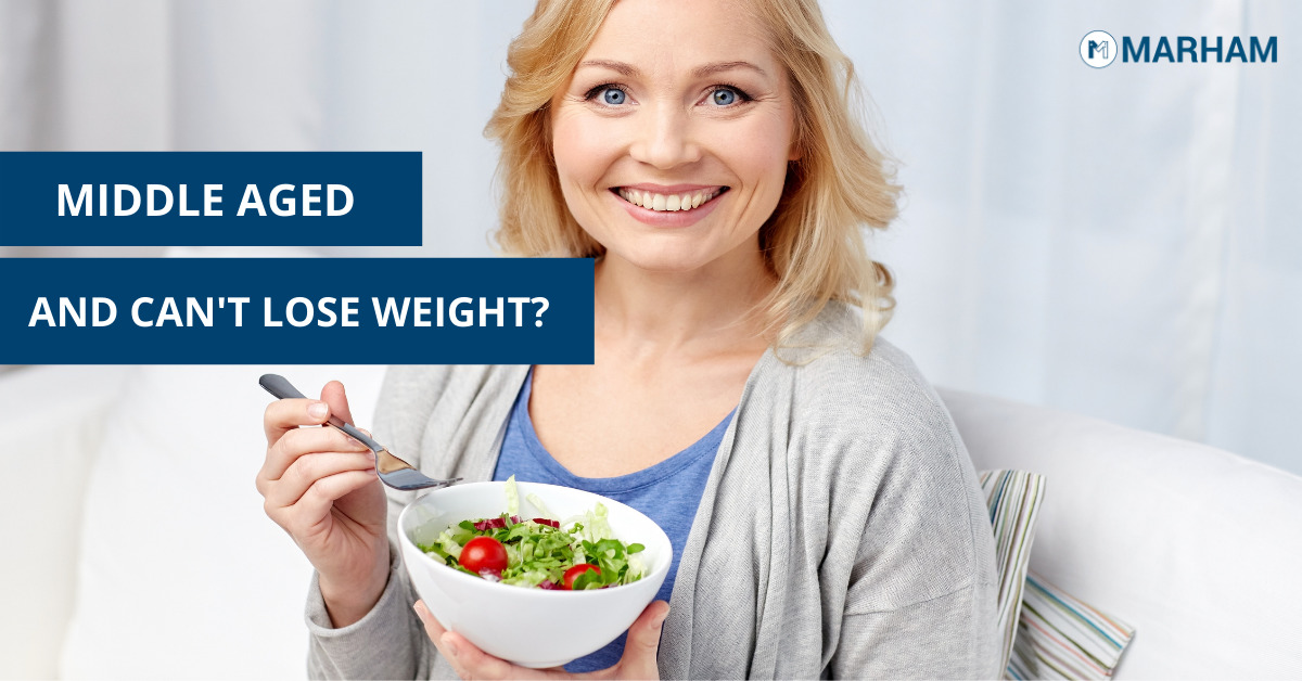 lose weight in middle age