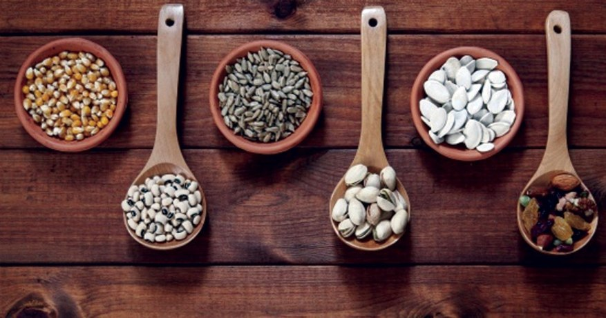 dryfruits and beans