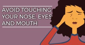 5 body parts you should not touch