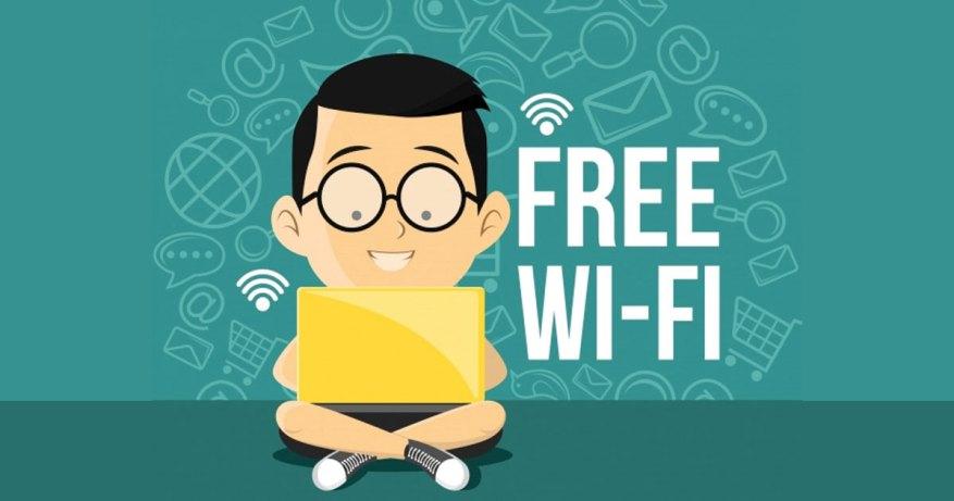 Turn off the Wi-Fi