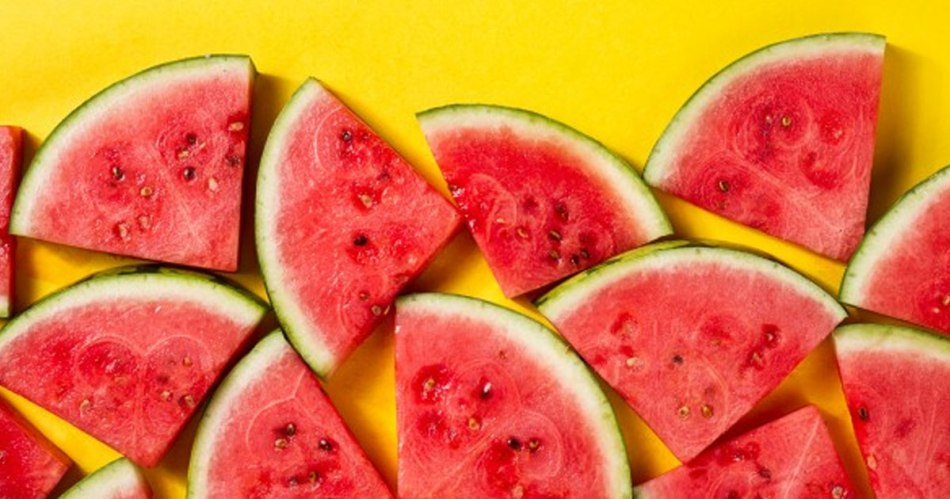 watermelon is a healthy snack