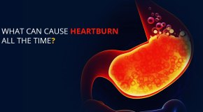 causes of heart burn