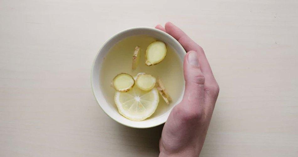 lemon water drink