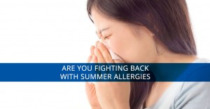 Summer allergies