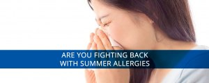 Summer allergies